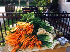 market table