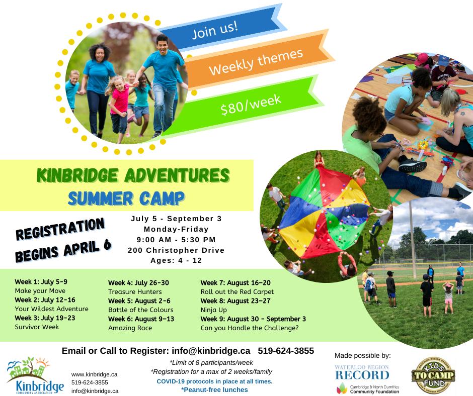 Summer Camp 2021 Information